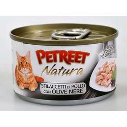 Petreet куриная грудка с оливками, консервы для кошек, 70 гр.