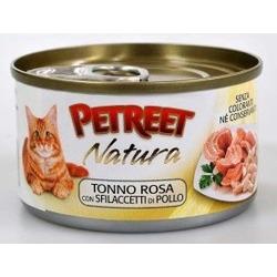 Petreet куриная грудка с тунцом, консервы для кошек, 70 гр.