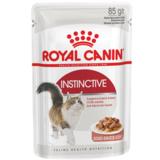 Royal Canin Instinctive, кусочки в соусе (мясо и рыба), для взрослых кошек, 85гр.х12шт.