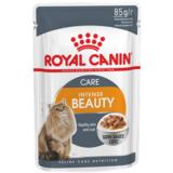 Royal Canin Intens Beаuty 12, кусочки в соусе (мясо и рыба), для здоровья шерсти и кожи, 85гр.х12шт.