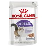 Royal Canin Sterilised, паштет для стерилизованных кошек, 85гр.х12шт.