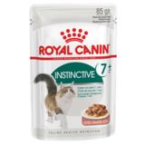 Royal Canin Instinctive +7 кусочки мяса в соусе для кошек старше 7 лет, 85гр.х12шт.