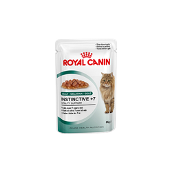 Royal Canin Instinctive +7 кусочки мяса в желе для кошек старше 7 лет, 85гр.х12шт.