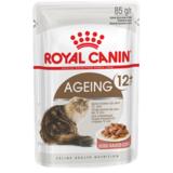 Royal Canin Ageing +12 кусочки мяса в соусе для кошек старше 12 лет, 85гр.х12шт.