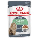 Royal Canin Digest Sensitive 9, консервы для кошек с чувствительным пищеварением, мясо, 85гр.х12шт.