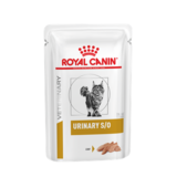 Royal Canin Urinary S/O, паштет ветеринарная диета для кошек при мочекаменной болезни струвиты, оксалаты, с цыпленком, 85 гр. х 12 шт.