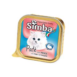 Simba Cat консервы для кошек паштет рыба