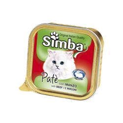 Simba Cat консервы для кошек паштет мясо 100 гр.