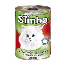 Simba Cat консервы для кошек паштет кролик 400 гр.