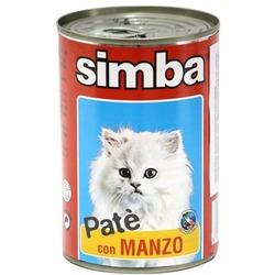 Simba Cat консервы для кошек паштет говядина 400 гр.