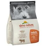 Almo Nature для взрослых собак малых пород с говядиной, Small&Beef and Rice Holistic