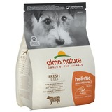 Almo Nature сухой корм для взрослых собак малых пород с говядиной, Small&Beef and Rice Holistic