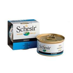 Schesir тунец, кусочки в желе, консервированный корм для кошек