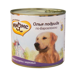 Мнямс Олья Подрида по-Барселонски (мясное ассорти с морковью), 600 гр.