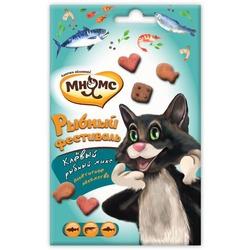 Мнямс Рыбный фестиваль для кошек (лосось, креветки, форель), 50 г