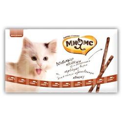 Pro Pet говядина с печенью, лакомые палочки Мнямс, 10 шт. х 13,5 см