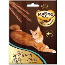 Мнямс Деликатес лакомые палочки 9 см для кошек с тунцом 3х4 гр.