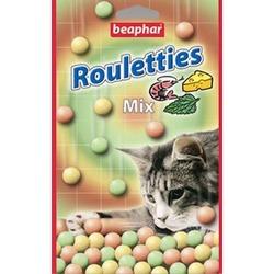 Beaphar Рулетики-шарики для кошек mix, 80 шт.