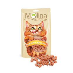 Molina Куриные кусочки, 80 гр.