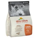 Almo Nature сухой корм для взрослых собак малых пород с рыбой, Small Adult White Fish and Rice Holistic