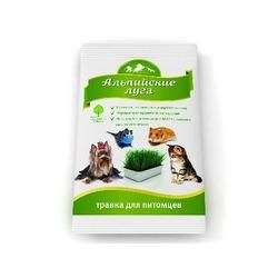 Альпийские луга универсальная травка для питомцев в пакете, 50 гр