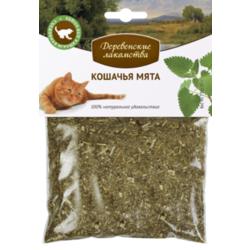 Деревенские лакомства Кошачья мята, 15 гр.