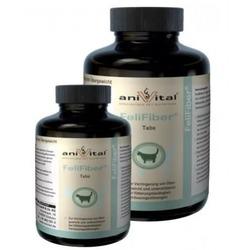 Anivital FeliFiber для борьбы с избытком веса, также облегчает выведение шерсти из желудка и кишечника у кошек 140 таб
