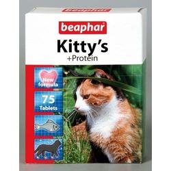 Beaphar Kitty's + Protein — Витаминизированное лакомство для кошек, с протеином