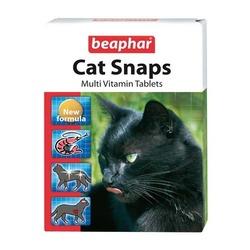 Beaphar Cat Snaps — Комплексная пищевая добавка для кошек, 75 табл.