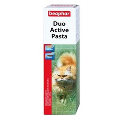 Beaphar Duo-Active Paste For Cats — Мультивитаминная паста двойного действия для кошек, 100 гр.