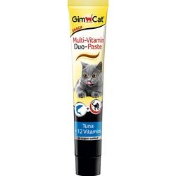 Gimcat Мультивитаминная паста «Дуо» Тунец +12 витаминов, 50 гр.