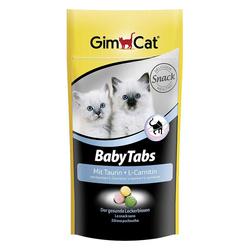 Gimcat «Baby-Tabs» Витамины с фруктами, морскими водорослями, таурином и L-карнитином для котят