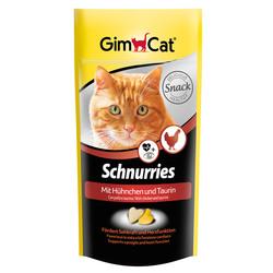 Gimcat «Schnurries» Витаминизированные «сердечки» с таурином и курицей с ТГОС для кошек