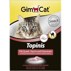 Gimcat «Topinis» Витаминные «мышки» с таурином и творогом с ТГОС для кошек