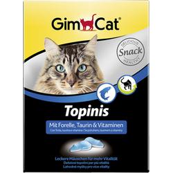 Gimcat «Topinis» Витаминные «мышки» с таурином и форелью с ТГОС для кошек