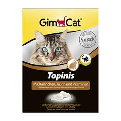 Gimcat «Topinis» Витаминные «мышки» с таурином и кроликом с ТГОС для кошек