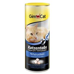 Gimcat «Katzentabs» Витамины с рыбой и биотином для кошек , 710 шт.