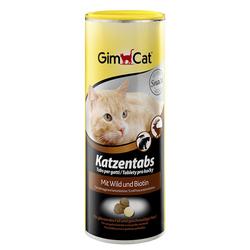 Gimcat «Katzentabs» Витамины с дичью и биотином для кошек , 710 шт.