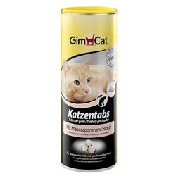 Gimcat «Katzentabs» Витамины с сыром Маскарпоне и биотином для кошек , 710 шт.