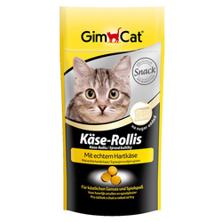 Gimcat «K?se-Rollis» Витаминизированные сырные шарики для кошек