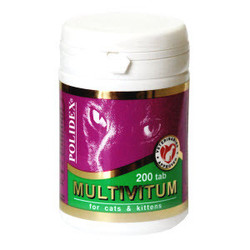 Polidex Multivitum поливитаминно-минеральный комплекс, 200 табл.