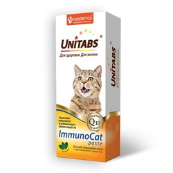 Unitabs Immuno Cat паста с таурином для кошек, 150 гр.