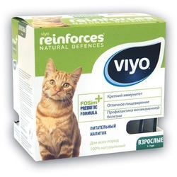 Viyo Adult 7 шт.х30мл. пребиотический напиток для взрослых кошек