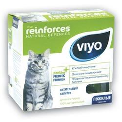 Viyo Senior 7 шт.х30мл. пребиотический напиток для пожилых кошек старше 7 лет