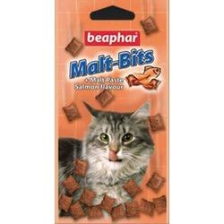 Beaphar Malt-Bits with Salmon — подушечки для выведения шерсти из желудка, со вкусом лосося, 75 шт.