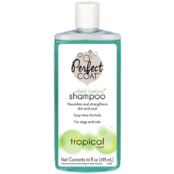 8in1 шампунь для кошек против линьки и колтунов Perfect Coad Shed Control & Hairball Shampoo, 295 мл