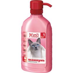 """Ms. Kiss """"Изящная пантера"""" Шампунь-кондиционер для короткошерстных кошек, 200 мл."""