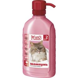 """Ms. Kiss """"Роскошная львица"""" Шампунь-кондиционер для длинношерстных кошек, 200 мл."""