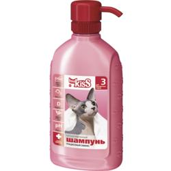 """Ms. Kiss """"Грациозный сфинкс"""" Шампунь-кондиционер для бесшёрстных кошек, 200 мл."""