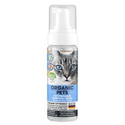 Organic Pets Шампунь-пенка для кошек всех пород, натуральный, 150 мл